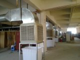 o fluxo de ar 18000m3/H descarrega para baixo o refrigerador de ar evaporativo portátil de Breezair