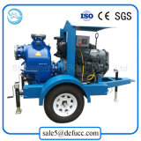 트레일러에 의하여 거치되는 농업 관개 장비 디젤 엔진 수도 펌프
