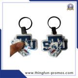 Подгонянный дешевый PVC Keychain пластичное Keychain СИД Keychain