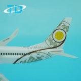 Boeing 737-800 пластика ABS для деловых подарков плоскости Mayanmar модели