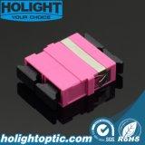 플랜지 없는 접합기 Sc Dx Om4 분홍색