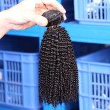 Волосы девственницы Weave бразильских человеческих волос Remy богемские Kinky курчавые
