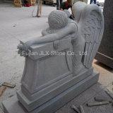 미국 새겨진 흐느껴 우는 천사 디자인 화강암 기념물