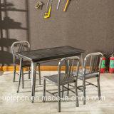 A mobília clássica do restaurante do metal ajustou-se nas várias cores (SP-CT753)
