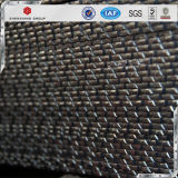 Q235 Le râpage du matériel d'acier barre plate striée