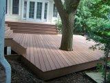 150*25mm einfache Installation und 100% aufbereiteter WPC hohler Decking-Fußboden