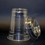Costume popular Degradable doméstico de copos plásticos transparentes