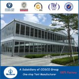 Tienda de aluminio enorme del partido de Cosco para el equipo de la exposición