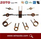 High-Tech Precios baratos herida periférica plana Cable bobinado inductor de las bobinas de filtro de ahogo