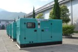 Groupe électrogène diesel silencieux inférieur de la consommation d'essence 200kw Deutz