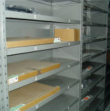 Prateleira de armazém para armazenamento de peças automáticas