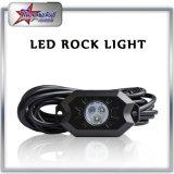 Bluetooth制御を用いるRGB LEDの石ライト、車のトラックのMotorcyleのオフロードボートのためのLED RGBの石ライト