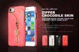 Fibra del serpente/tessuto/carbonio/cassa di cuoio del telefono mobile del PC dell'unità di elaborazione reticolo del coccodrillo per il iPhone per la nota 5 della galassia di Samsung