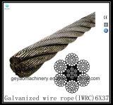 Der helle Faser-Kern 6X21/Bohrgerät-Zeile galvanisierte,/Edelstahl-Drahtseil-