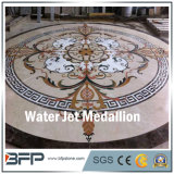 Het marmer Opgepoetste Medaillon van het Ontwerp van de Straal van het Water voor Hotel en Villa