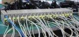 конвертер средств оптического волокна гигабита волокна Sc 10/100/1000m двойной