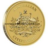 Moneda del recuerdo manufactura de metal de encargo