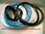PVC構築の中国の工場のための上塗を施してある鉄のらせんとじワイヤー