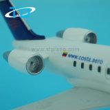 Aereo di plastica del modello della plastica di 1:100 27cm dell'ABS della Costa Crj-200