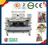 Heißer Verkauf China zwei Köpfe computerisierte Stickerei-Maschine mit 6 9 12 15 Nadeln