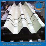 La couleur du toit de métal habillages en acier recouvert de feuilles de toiture