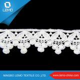 Tipo nigeriano del tessuto del merletto di nuovo disegno di Lemo di merletto materiale del bordo del merletto