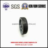 ゴム製タイヤが付いている高品質によってカスタマイズされる芝生の発動機のプラスチック車輪