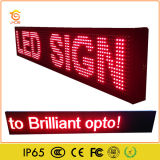 Signe programmable extérieur de P10 DEL