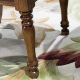 La última madera del diseño simple y silla de cena de cuero para el uso casero con la buena calidad As850