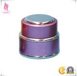 La plastica del contenitore di imballaggio della crema di cura di pelle 2017 stona il vaso crema cosmetico materiale acrilico con il coperchio