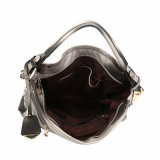 Trendy Style Contrast Colors Metal Lady Hobo Bag (MBNO040056)