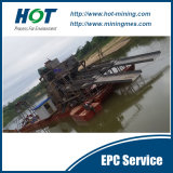 África Hot Sale Customized Bucket Chain Alluvial Gold Dredging