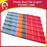 Telha de telhado espanhola da resina sintética do ASA do estilo