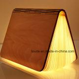 Lámpara libro plegable LED para la decoración de Navidad