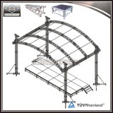 Модная сдобренная светлая ферменная конструкция крыши для случаев