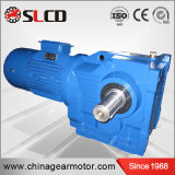 Fabricante profesional de cajas de engranajes industriales de fines generales biseladas helicoidales de la serie del kc para la máquina