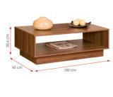 現代居間の家具の木のコーヒーテーブル(HX-DR020)