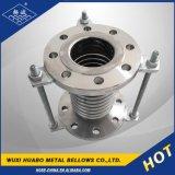 Finition de la bride de joint d'expansion flexible en acier inoxydable