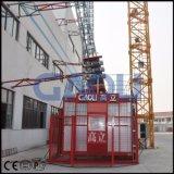 Alzamiento magro de la construcción Scq200/200 para la chimenea de la torre del puente