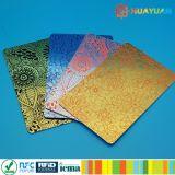 Карточка подарка PVC оптового изготовленный на заказ печатание пластичная с владельца карточки