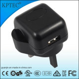 De Lader USB van Kptec AC/DC met Ce- Certificaat 5V 1A