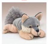 Заполненная таможней игрушка плюша волка