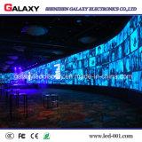 Pantalla de visualización de interior de alquiler de LED de la pequeña del pixel P1.5625/P1.667/P1.923 etapa ultrafina de la echada