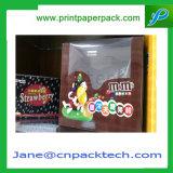 Kundenspezifischer Pappe-Belüftung-Blasen-Kasten-Süßigkeiten-Schokoladen-Süßigkeit-Verpackungs-Papier-Geschenk-Kasten