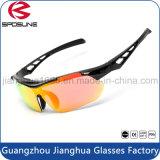 El nuevo diseñador sin rebordes al por mayor caliente polarizó los anteojos de ciclo de la receta Anti-Rasguña las gafas de sol de conducción irrompibles