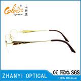 Beta blocco per grafici di titanio di vetro ottici di Eyewear del monocolo di ultimo disegno per la donna (8333)
