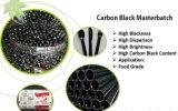 Зерна Masterbatch черноты углерода пластичного провода кабеля любимчика LDPE/LLDPE/HDPE/PP/PS функциональные для