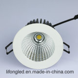 Projector Recessed de venda quente do diodo emissor de luz Downlight 12W Dimmable da ESPIGA