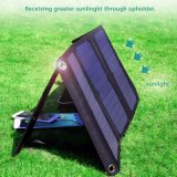21W iPhone6s 7のアンドロイドのSamsungのiPadのための二重USBを持つFoldable太陽電池パネル袋の充電器