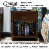 Suporte de cama de madeira sólida estilo americano para móveis de escritório doméstico As829